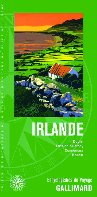 Couverture du Guide gallimard... Irlande