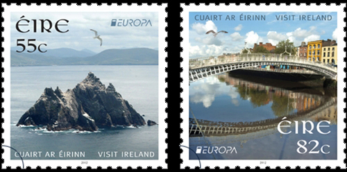 Europa - Irlande - Timbres